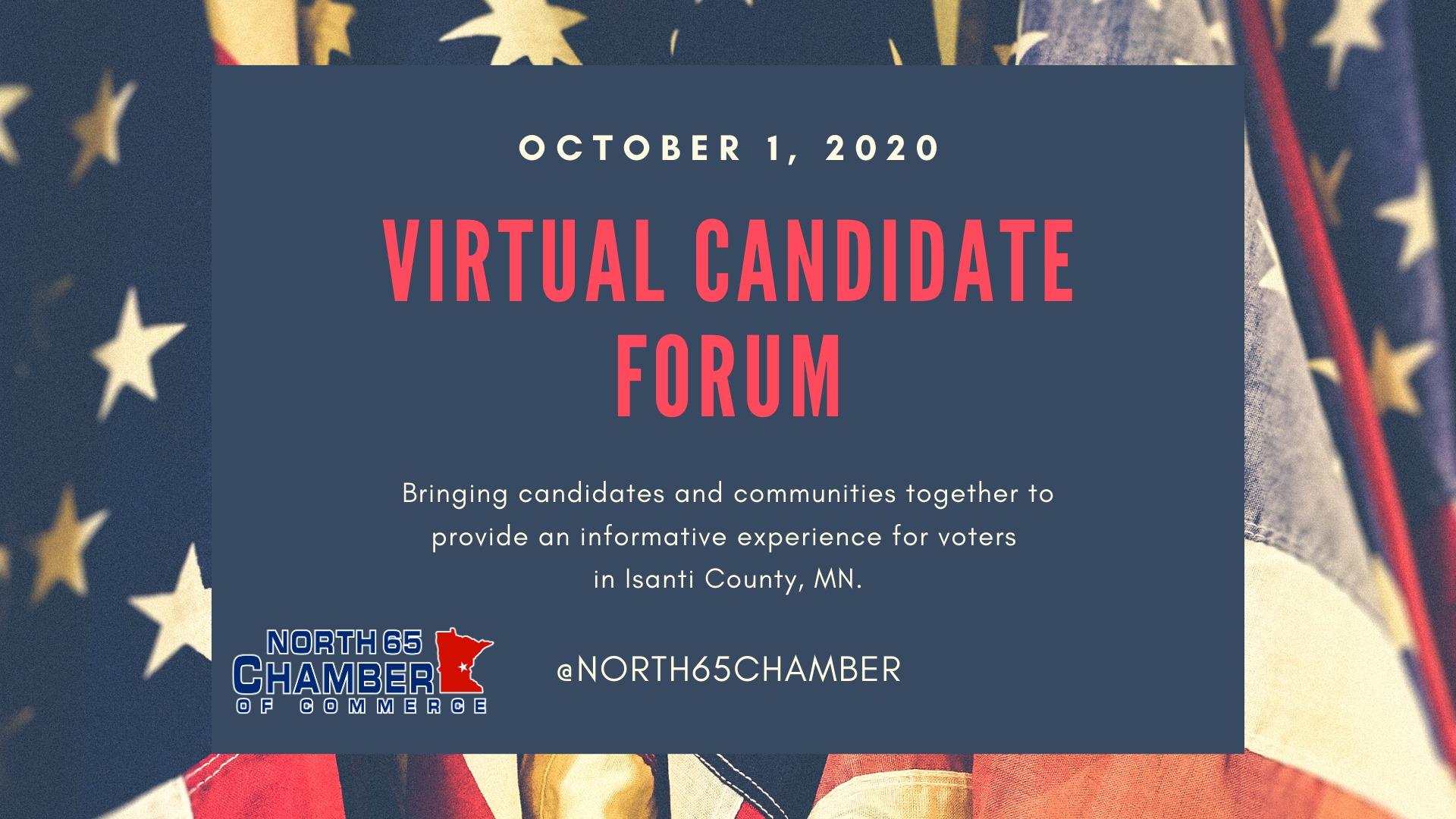 virtual candidate forum october 1