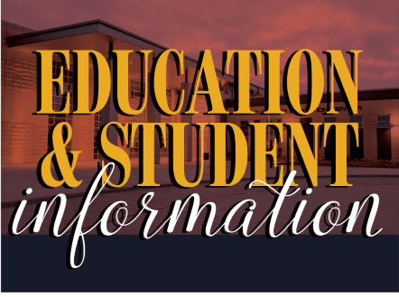 Education & Student Information