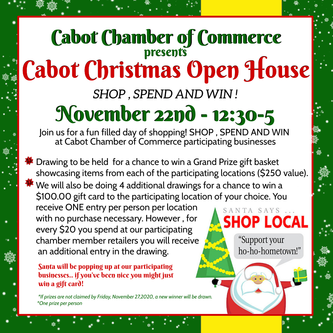2020 Cabot Christmas Open House