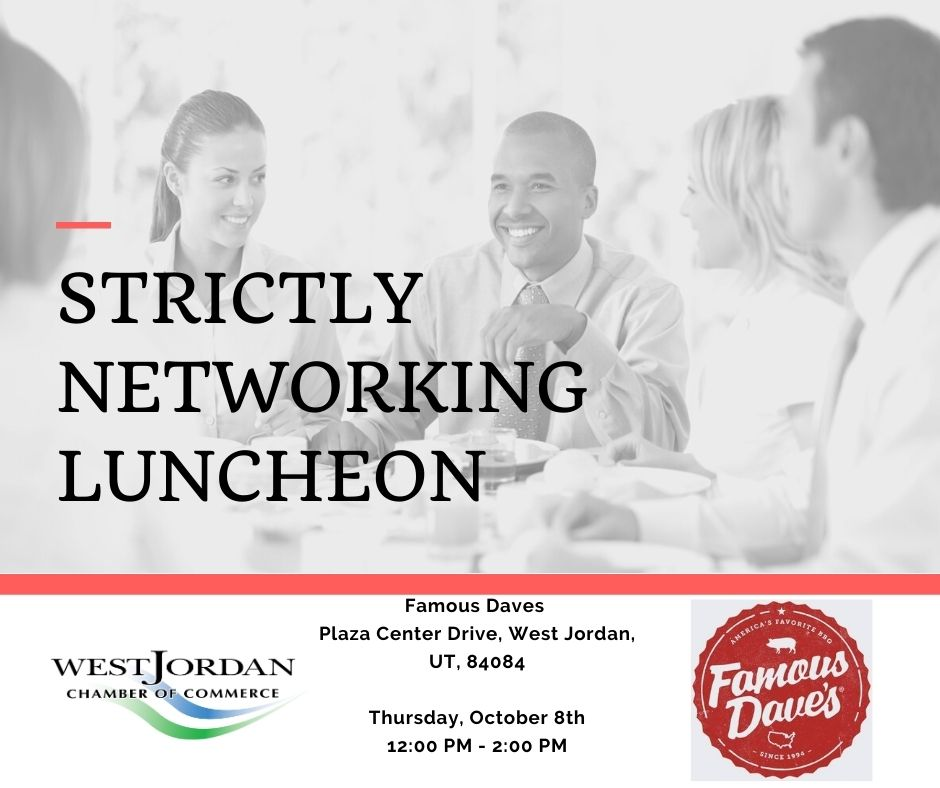 Strictly Networking Luncheon - October 8