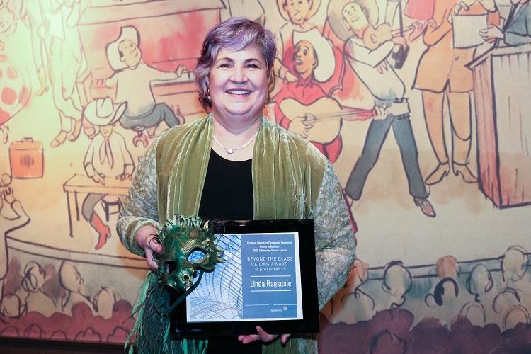 2020 Beyond the Glass Ceiling Award Winner is Linda Ragsdale