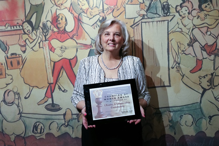 2020 Champion of Women Award Winner is L'Evate, A Leadership Community