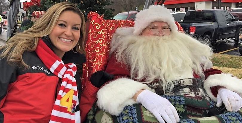 Kelly Sutton & Santa