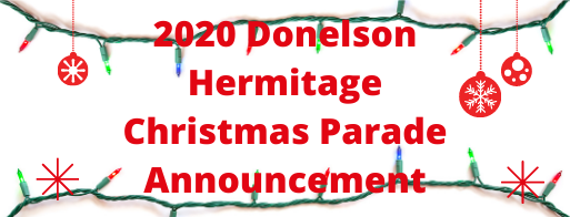 2020 Donelson Hermitage Christmas Parade Announcement (1)