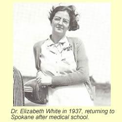 Dr. Elizabeth White in 1937