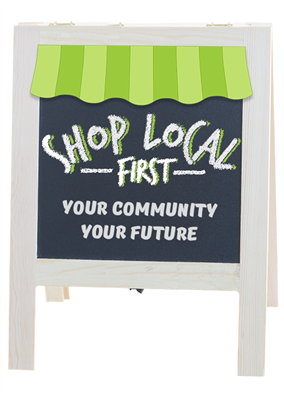 shop local first