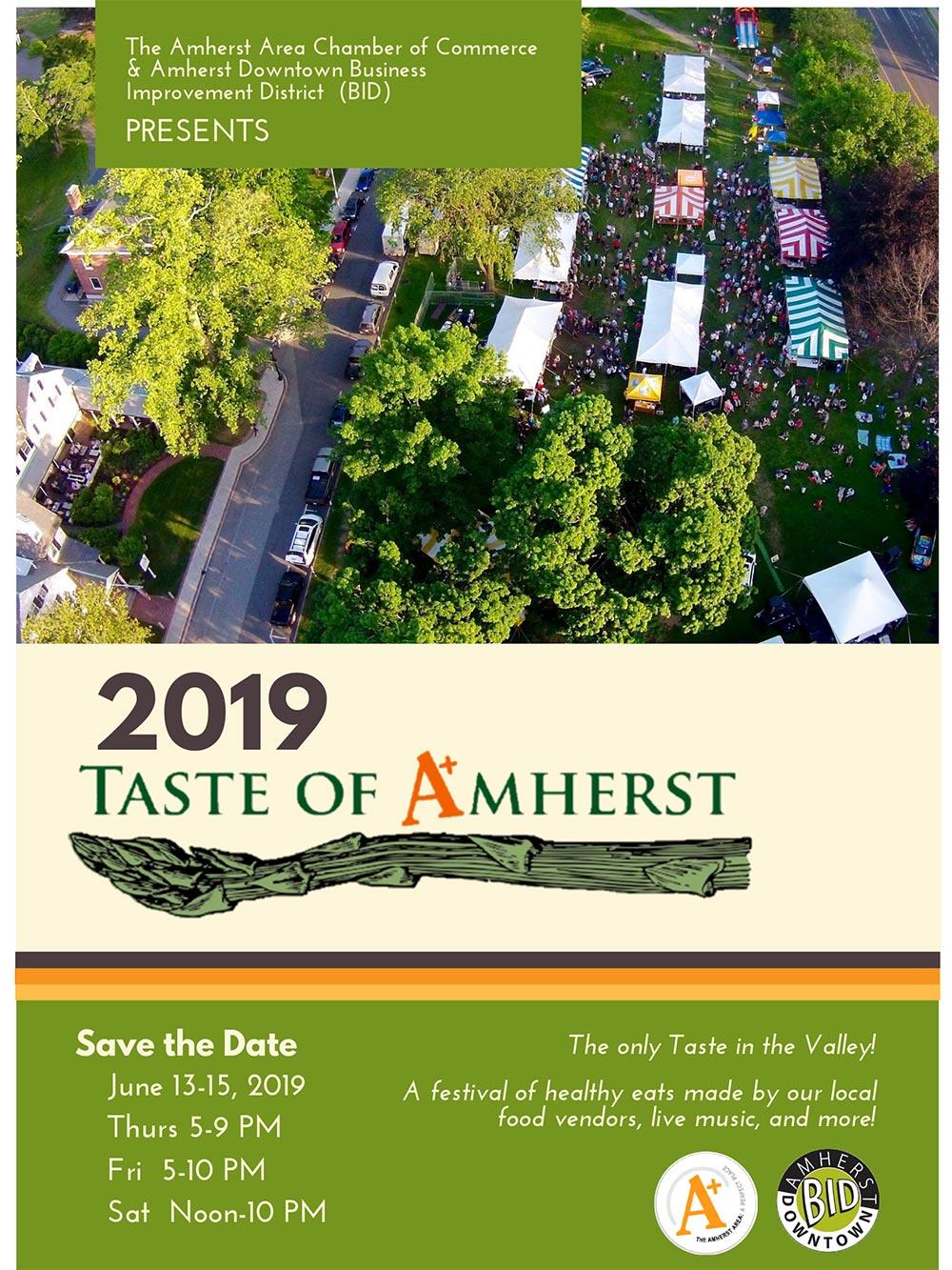 Taste of Amherst Poster
