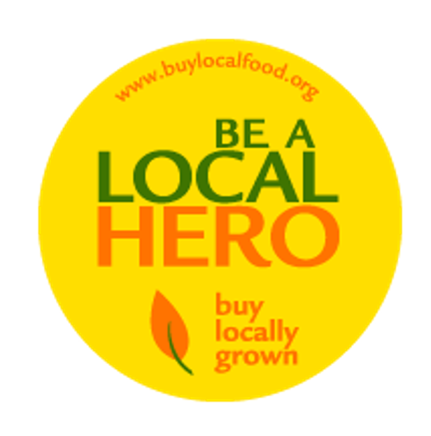 Be A Local Hero Sticker