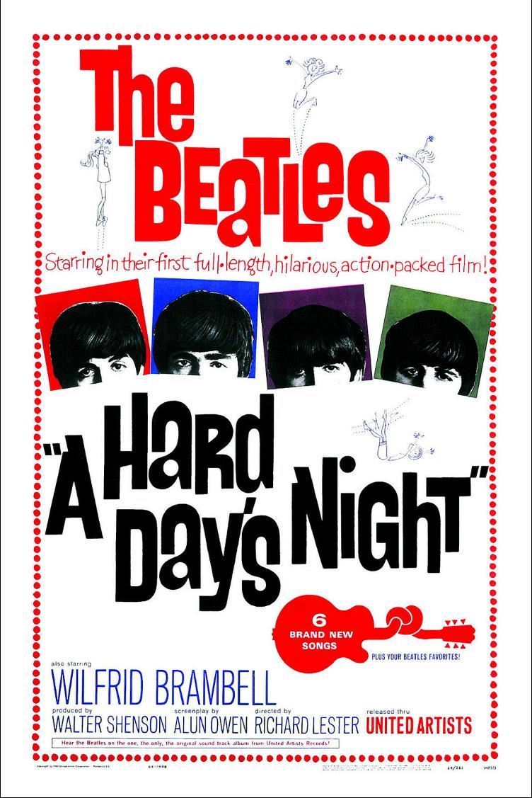 A Hard Days Night Poster