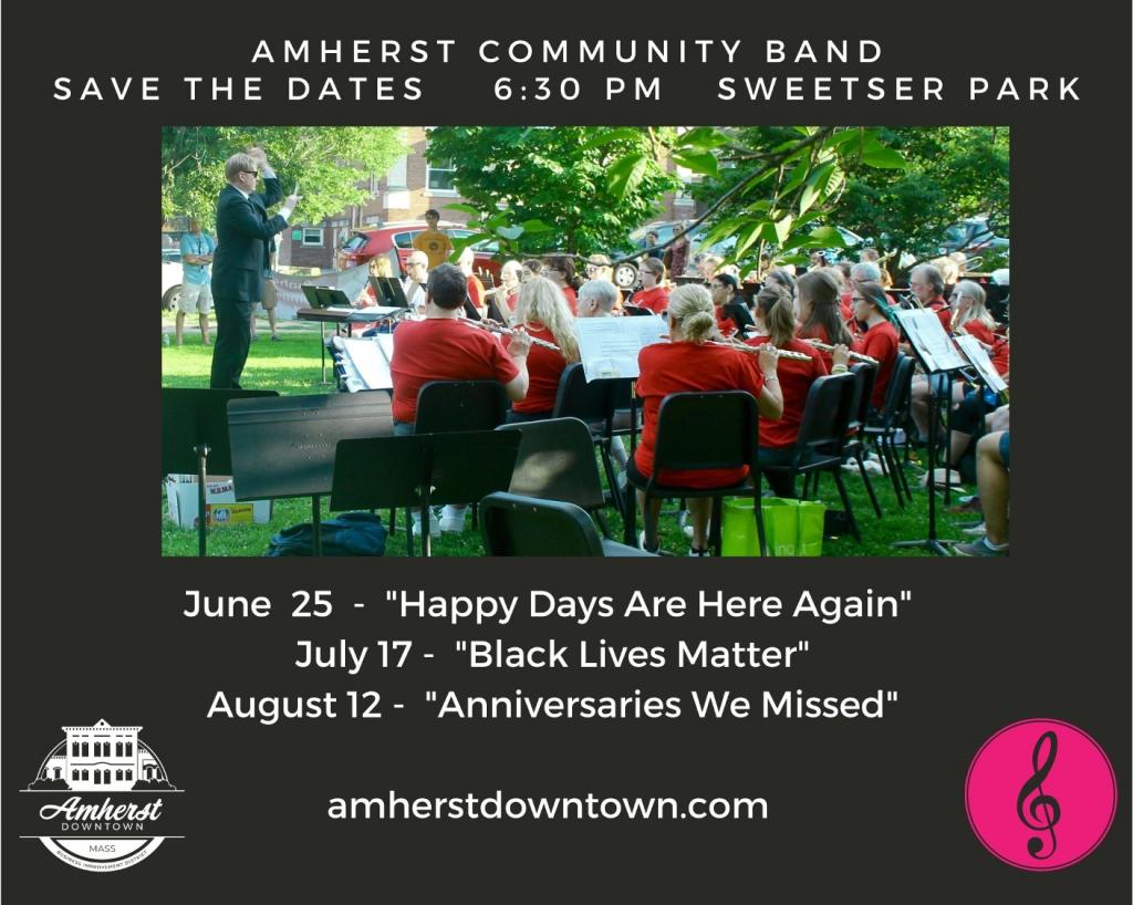 Amherst Community Band Cover