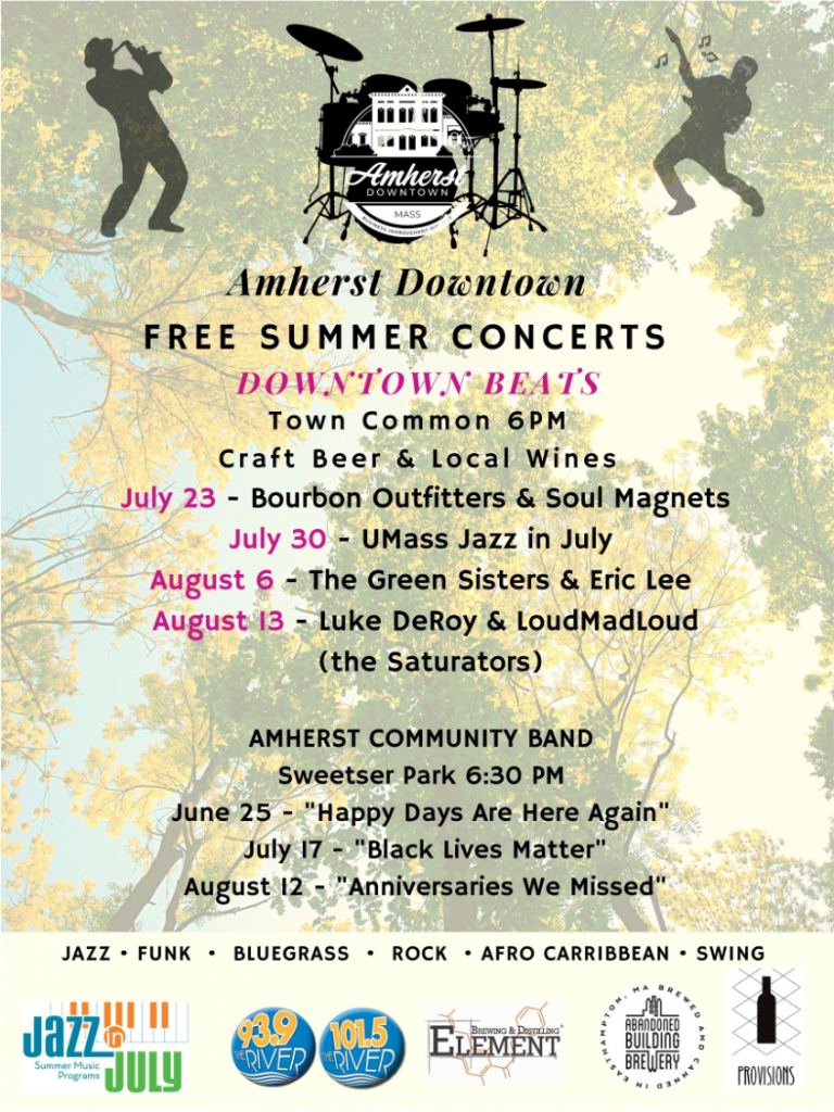 Amherst Downtown Summer Concerts