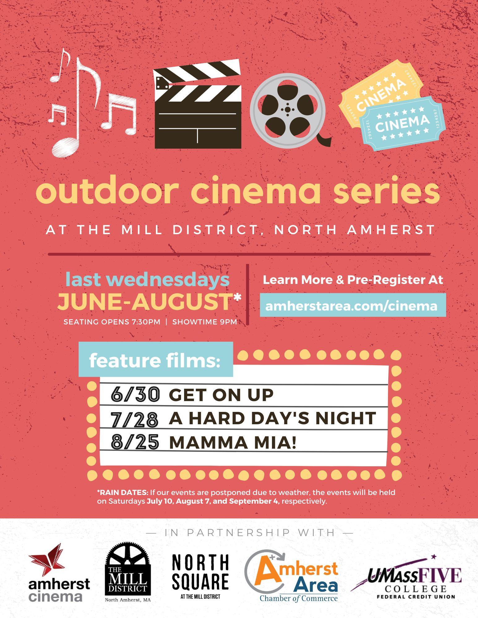 Summer Outdoor Cinema - Flyer (4)