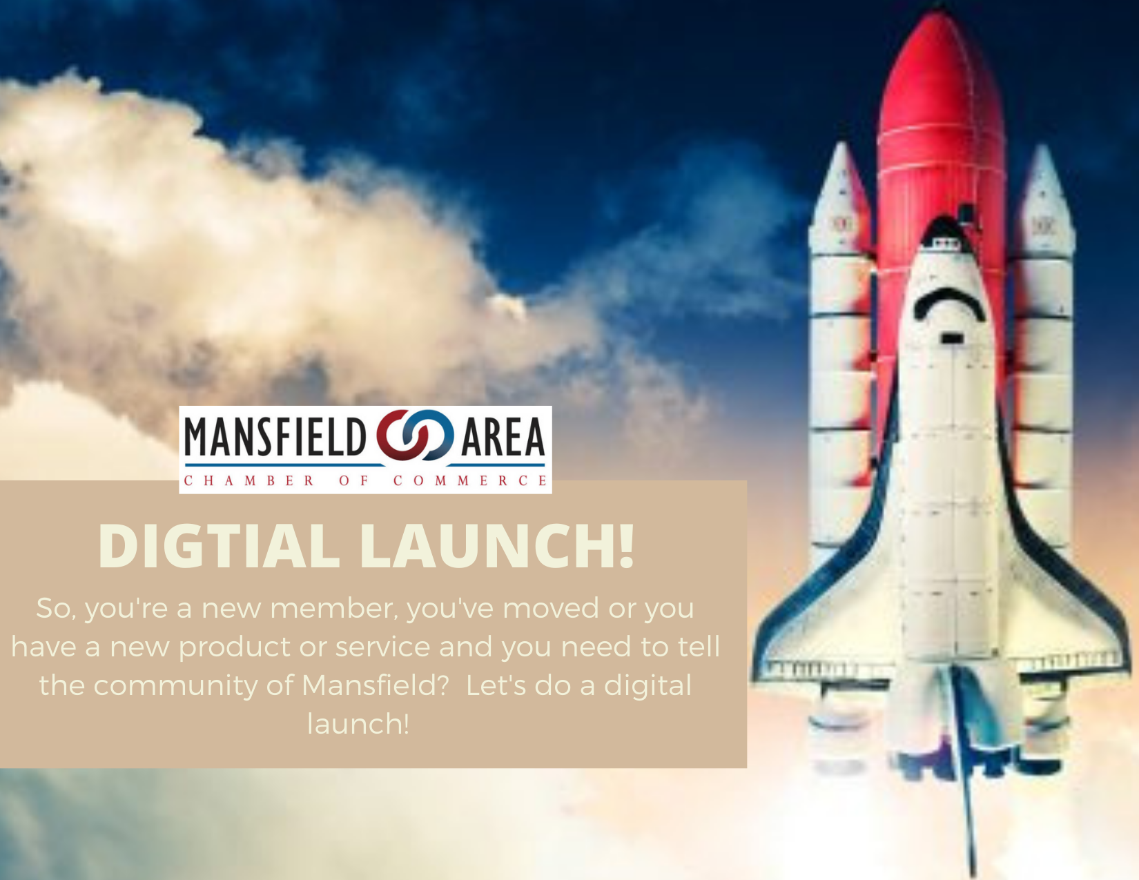 DIGTIAL LAUNCH!