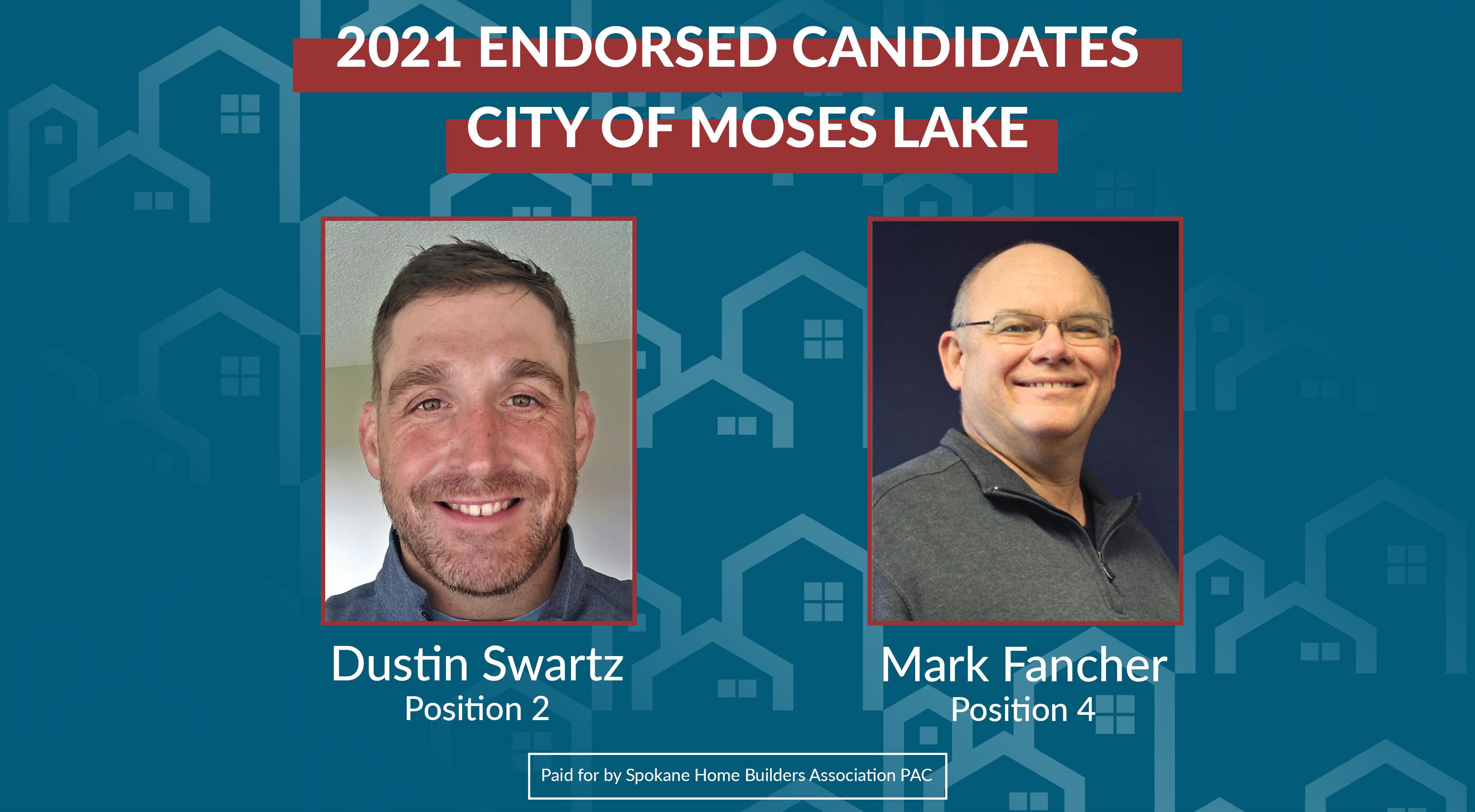 2021 Endorsed Candidates Moses Lake