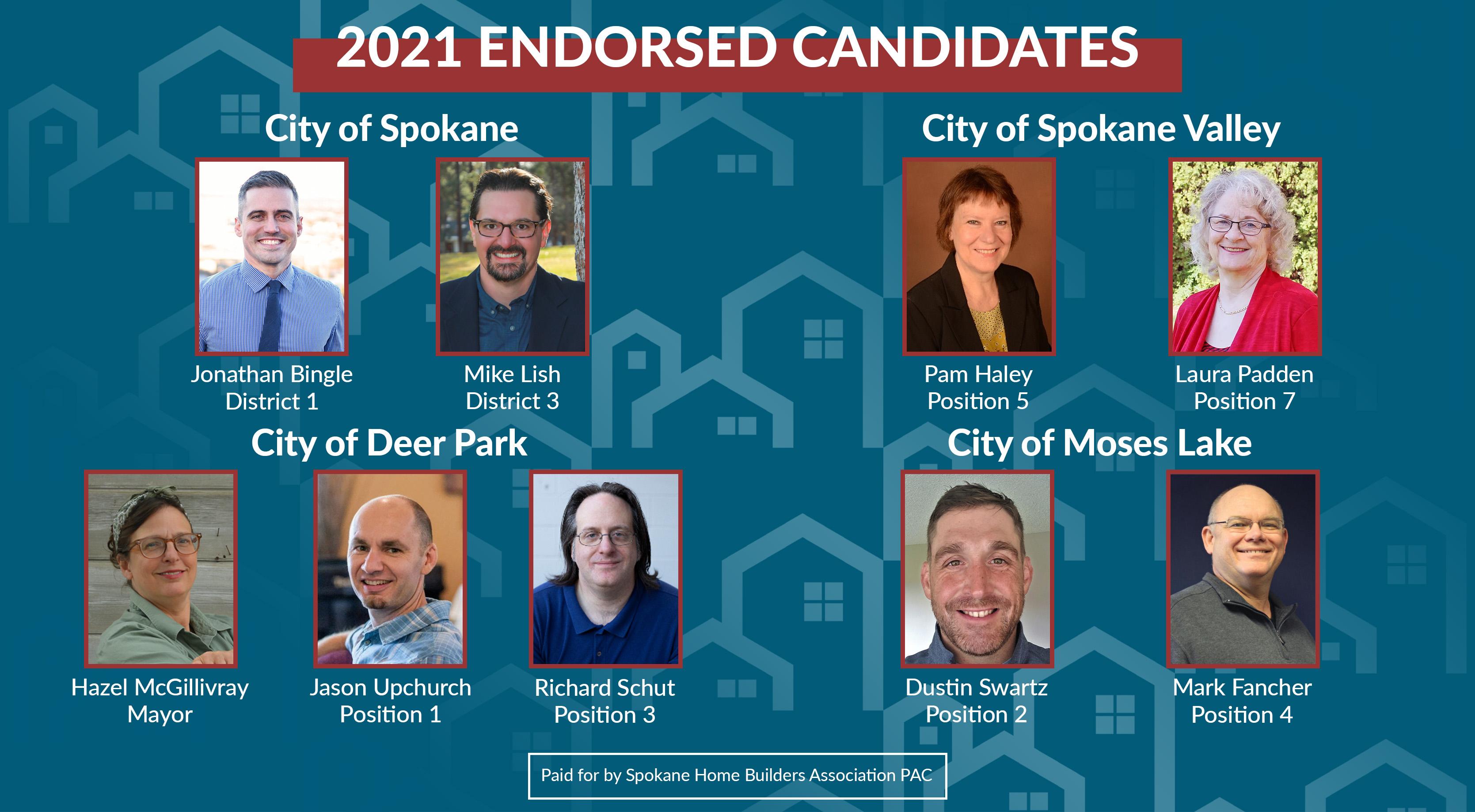 2021 Endorsed Candidates