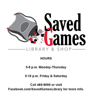 Saved Games Library and Shop