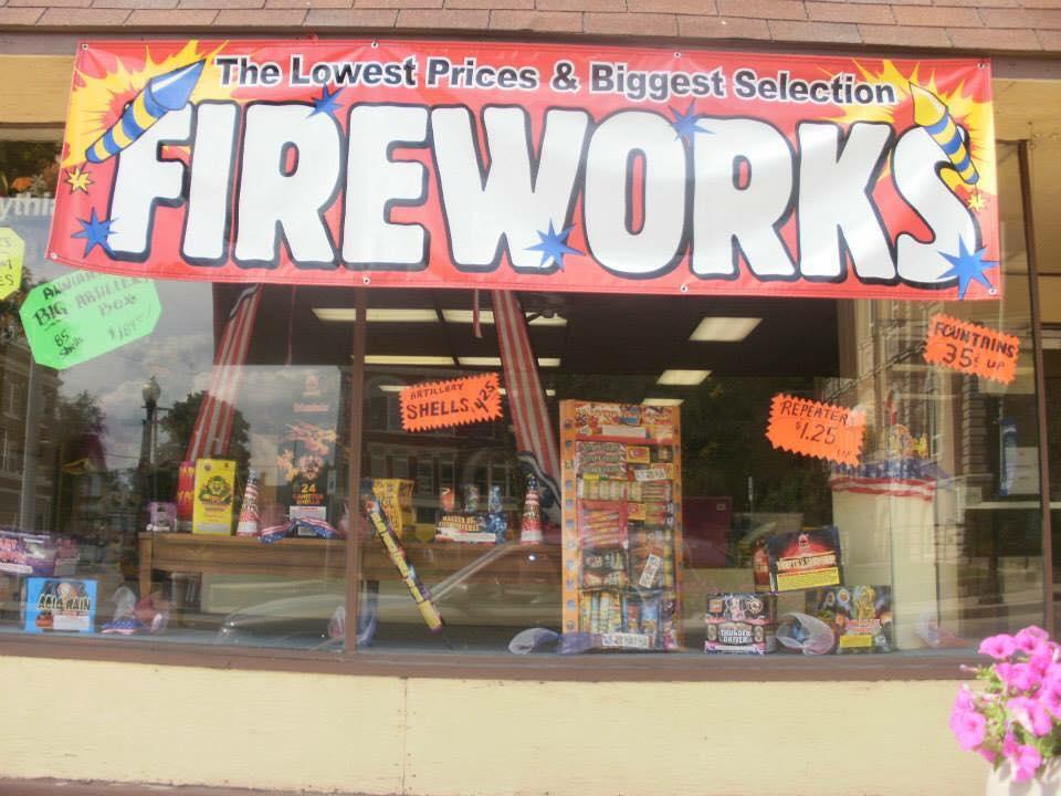 Pythias fireworks