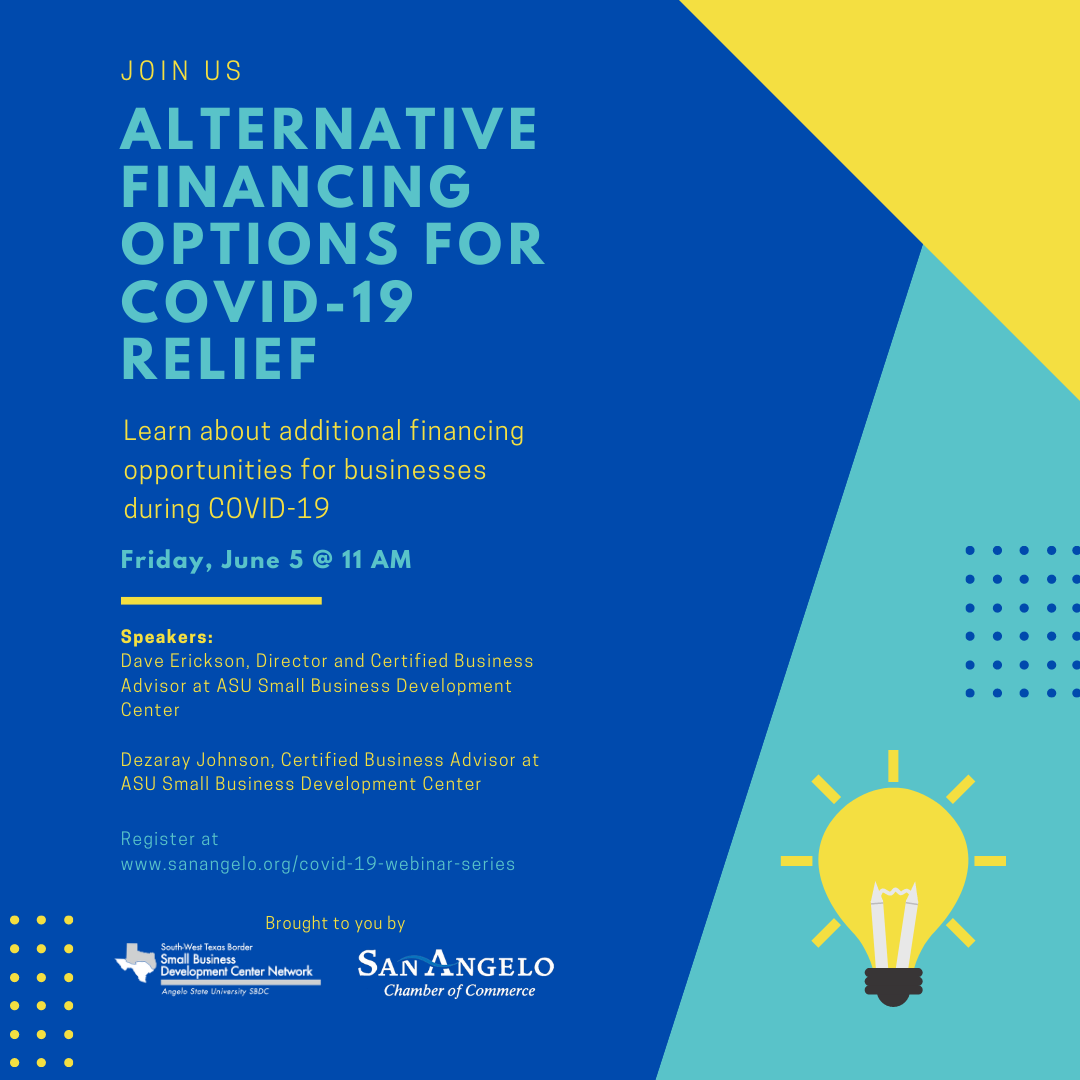 Alternative Financing Options for COVID-19 Relief Square
