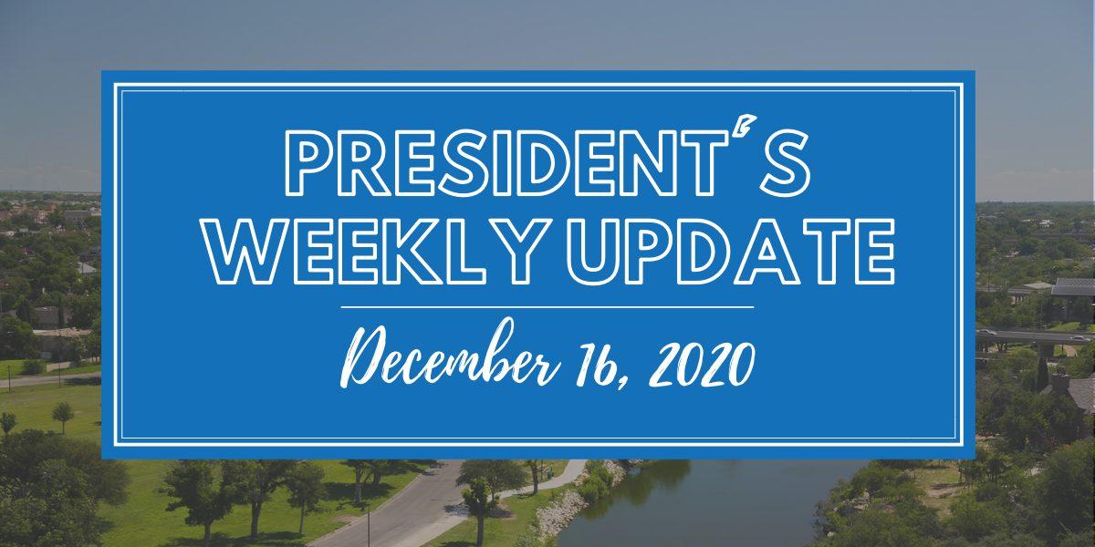 President's Weekly Update(16)