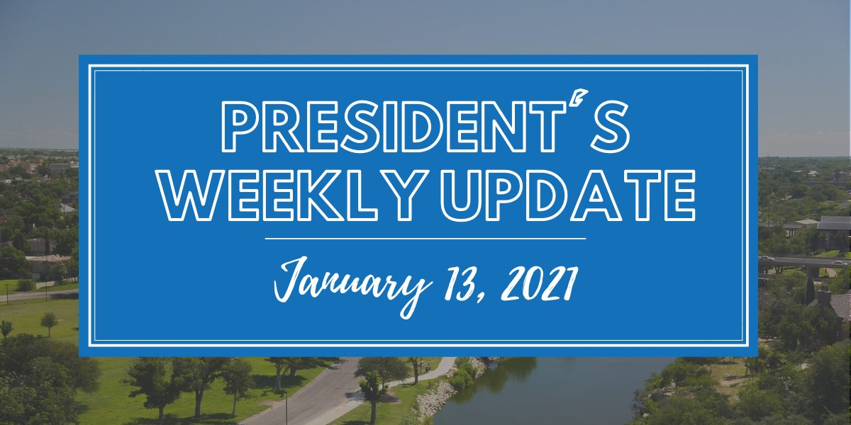President's Weekly Update(18)