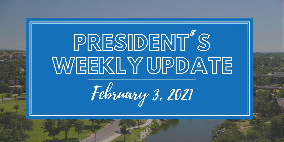 President's Weekly Update