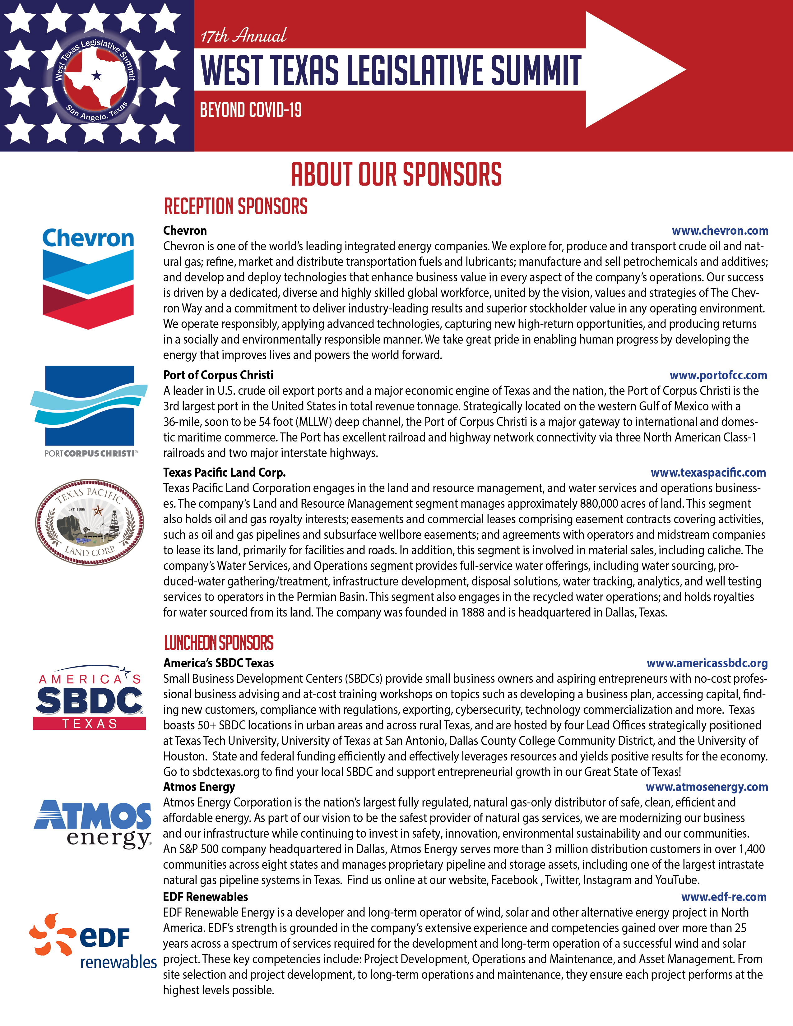 About Our Sponsors1