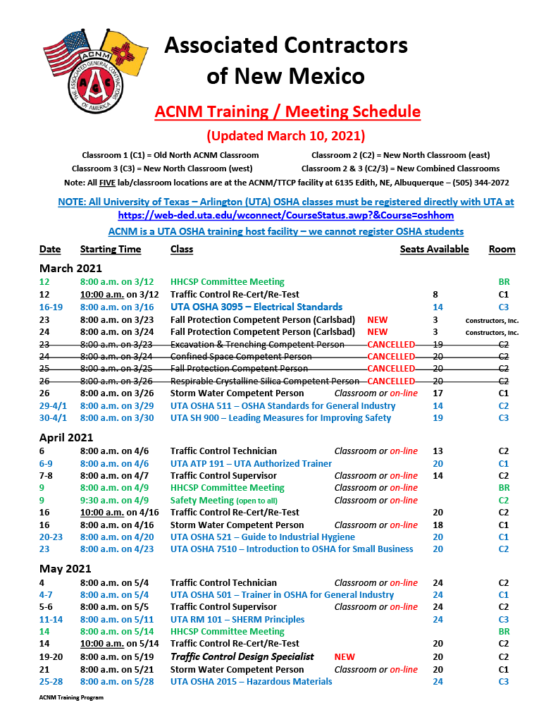ACNM Training Meeting Schedule - 3-10-211024_1