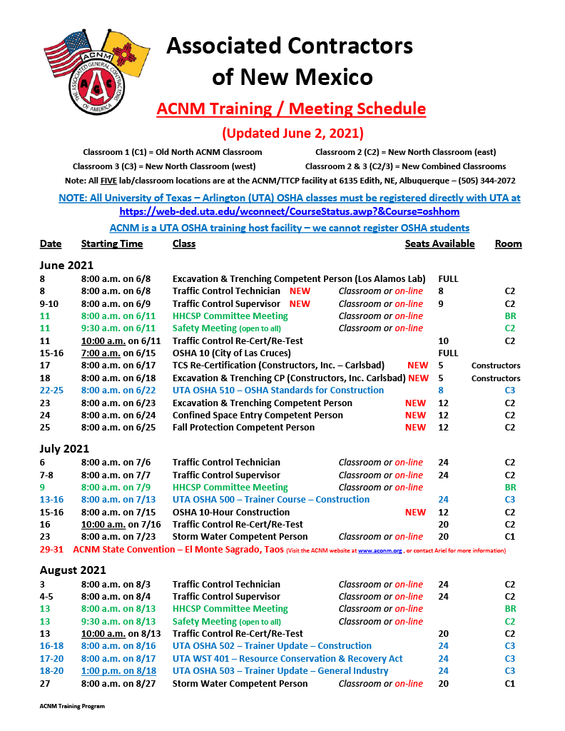 ACNM Training Meeting Schedule - 6-2_211024_1