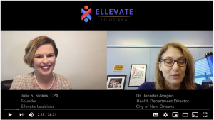 image of video side by side of dr. jennifer avengo and julie stokes