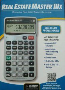 RE Calculator