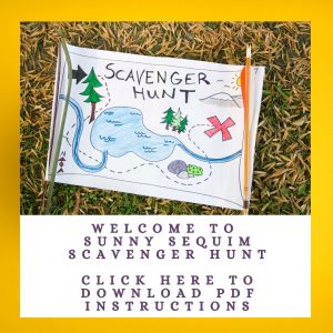 Welcome to sunny sequim Scavenger hunt