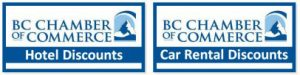 BC CHAMBER TRAVEL DISCOUNTS