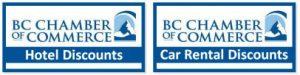 BC CHAMBER TRAVEL DISCOUNTS
