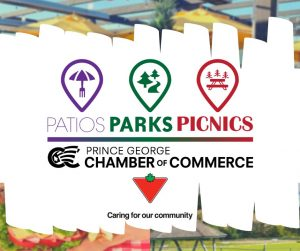Patios Parks and Picnics graphic
