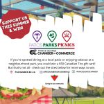 Patios Parks and Picnics Instagram graphic
