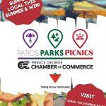 Patios Parks and Picnics poster