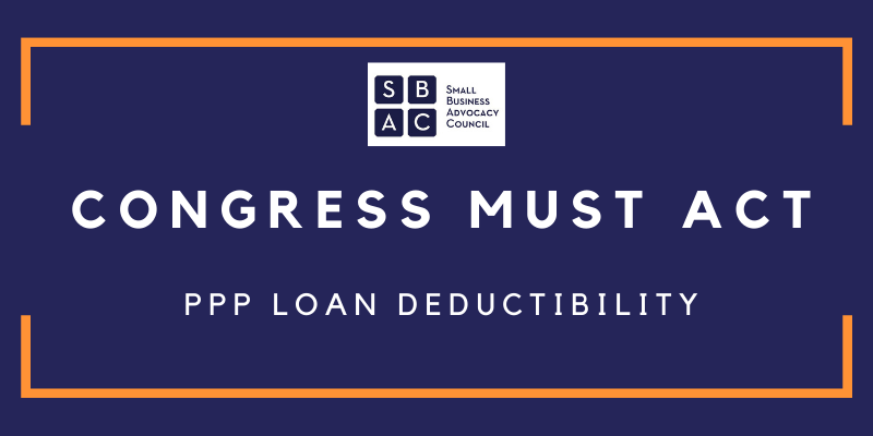 PPP Loan Deductibility