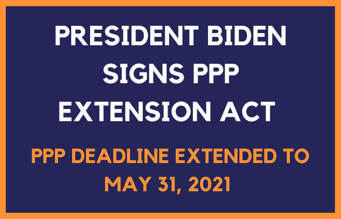 PPP Extension Act -2021