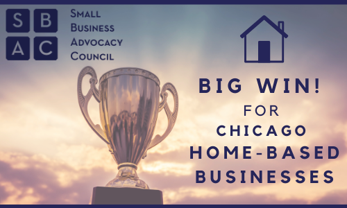Copy of BIG win for Chicago home based businesses