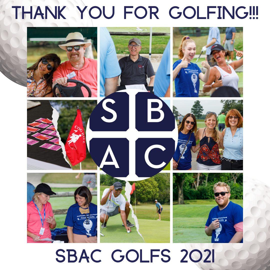 Golf Thank you Blog