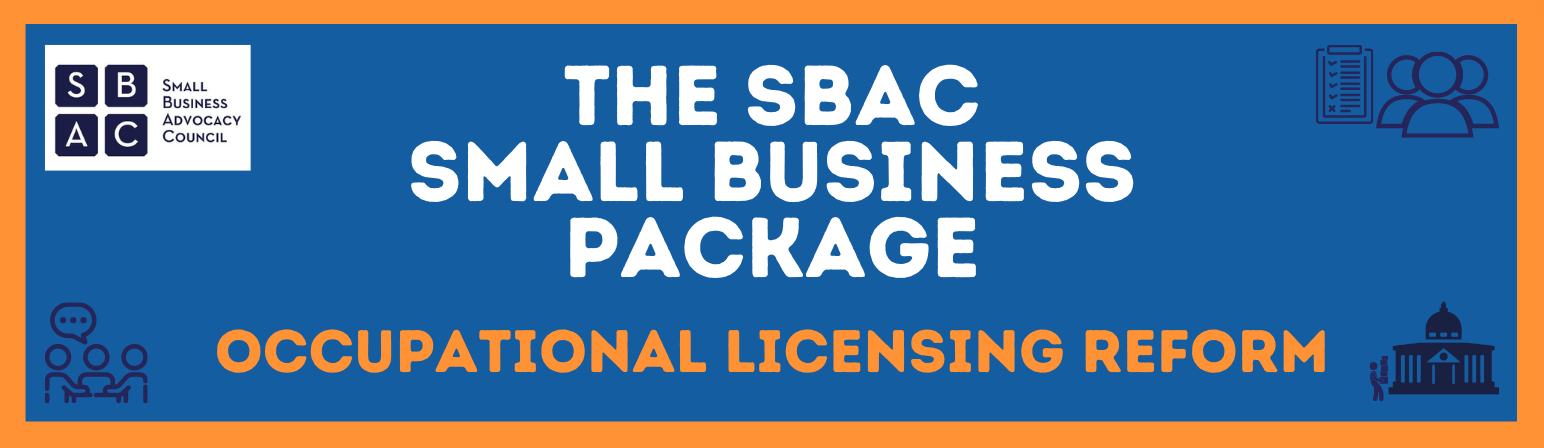Occupational Licensing Reform Small Business Package