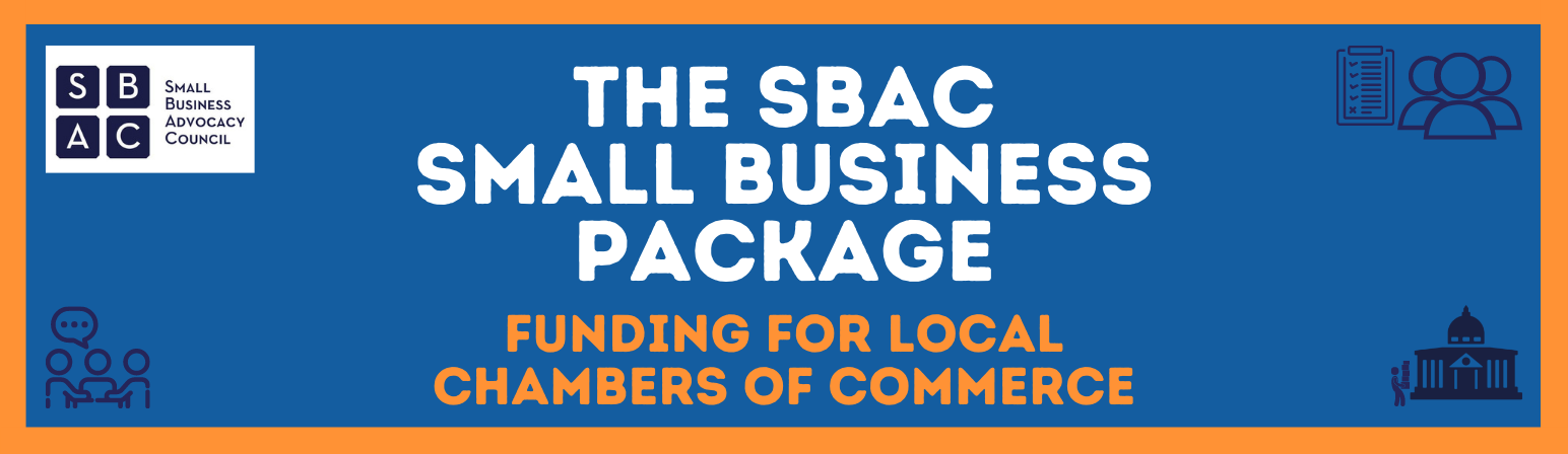 funding for local Chambers Small Business Package