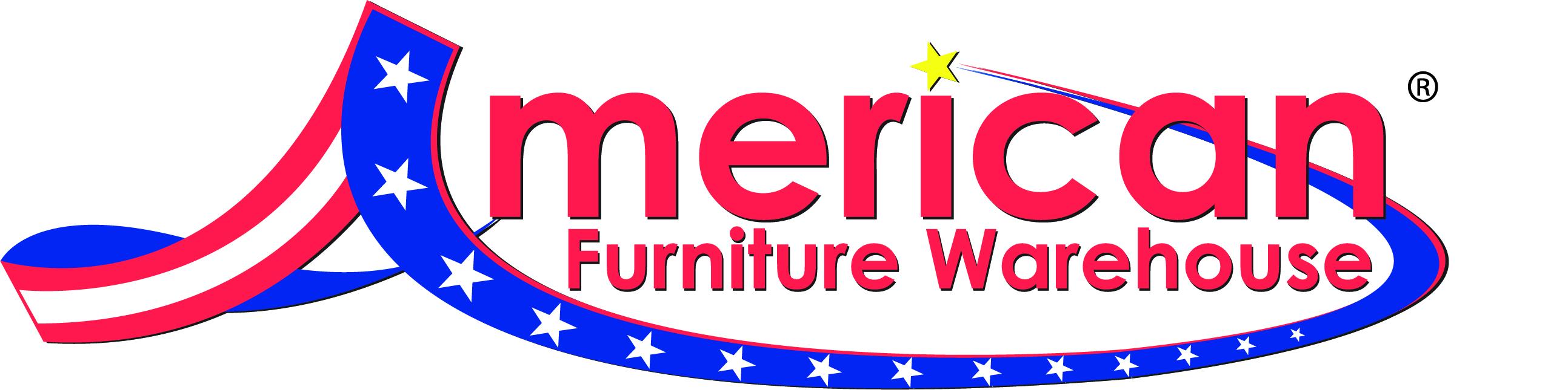 American Furniture Warehouse logo CMYK