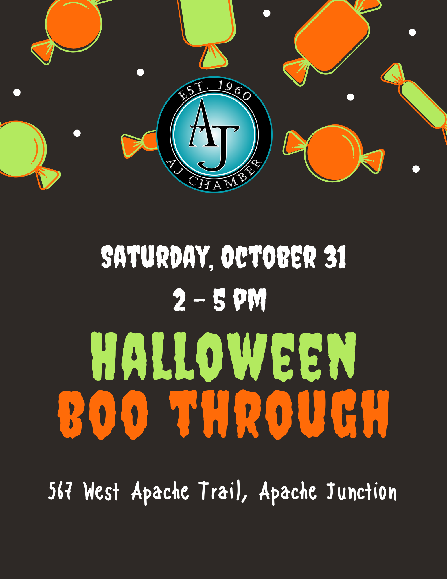 Halloween Boo Through Flyer