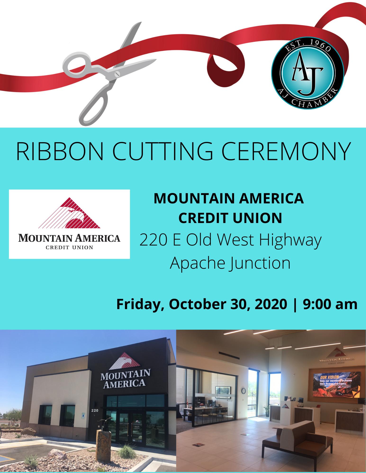 Ribbon Cutting - Mountain America CU