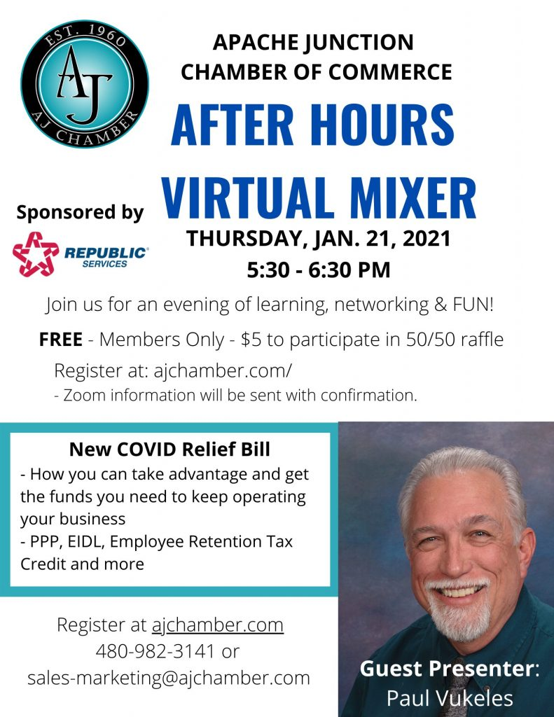 JANUARY 2021 AFTER HOURS VIRTUAL MIXER FLYER PNG