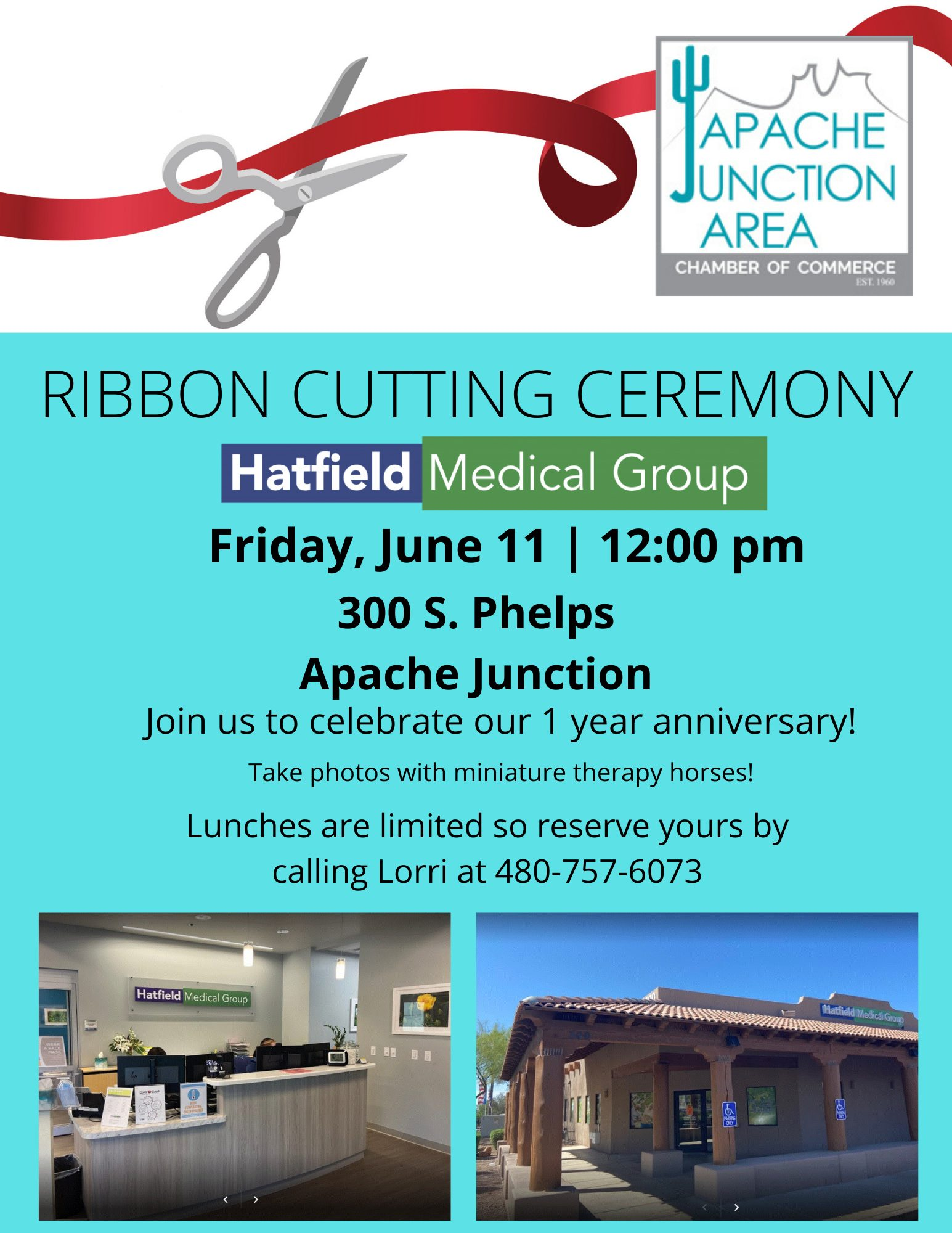 Ribbon Cutting - Hatfield