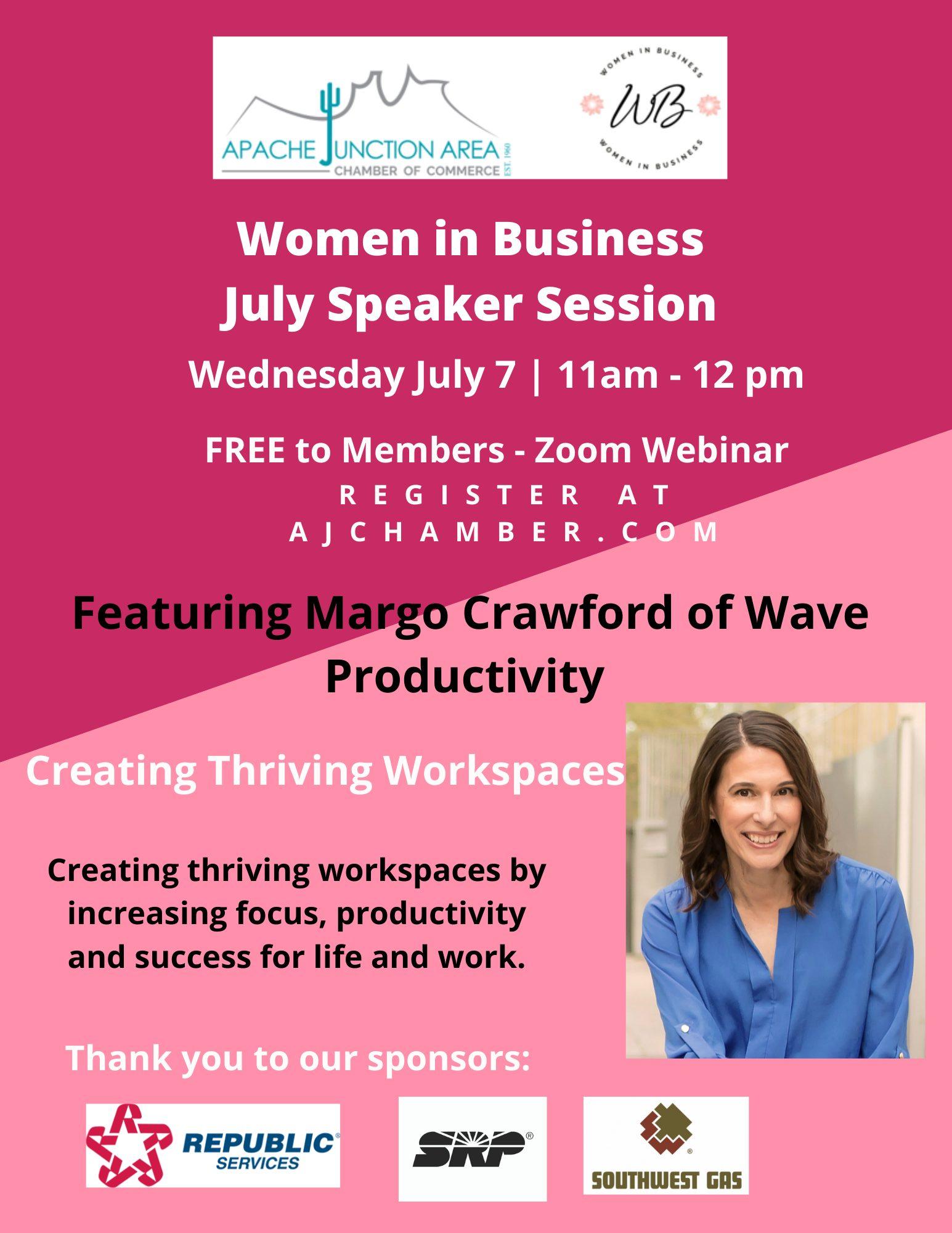 WIB July Speaker Session Flyer (1)