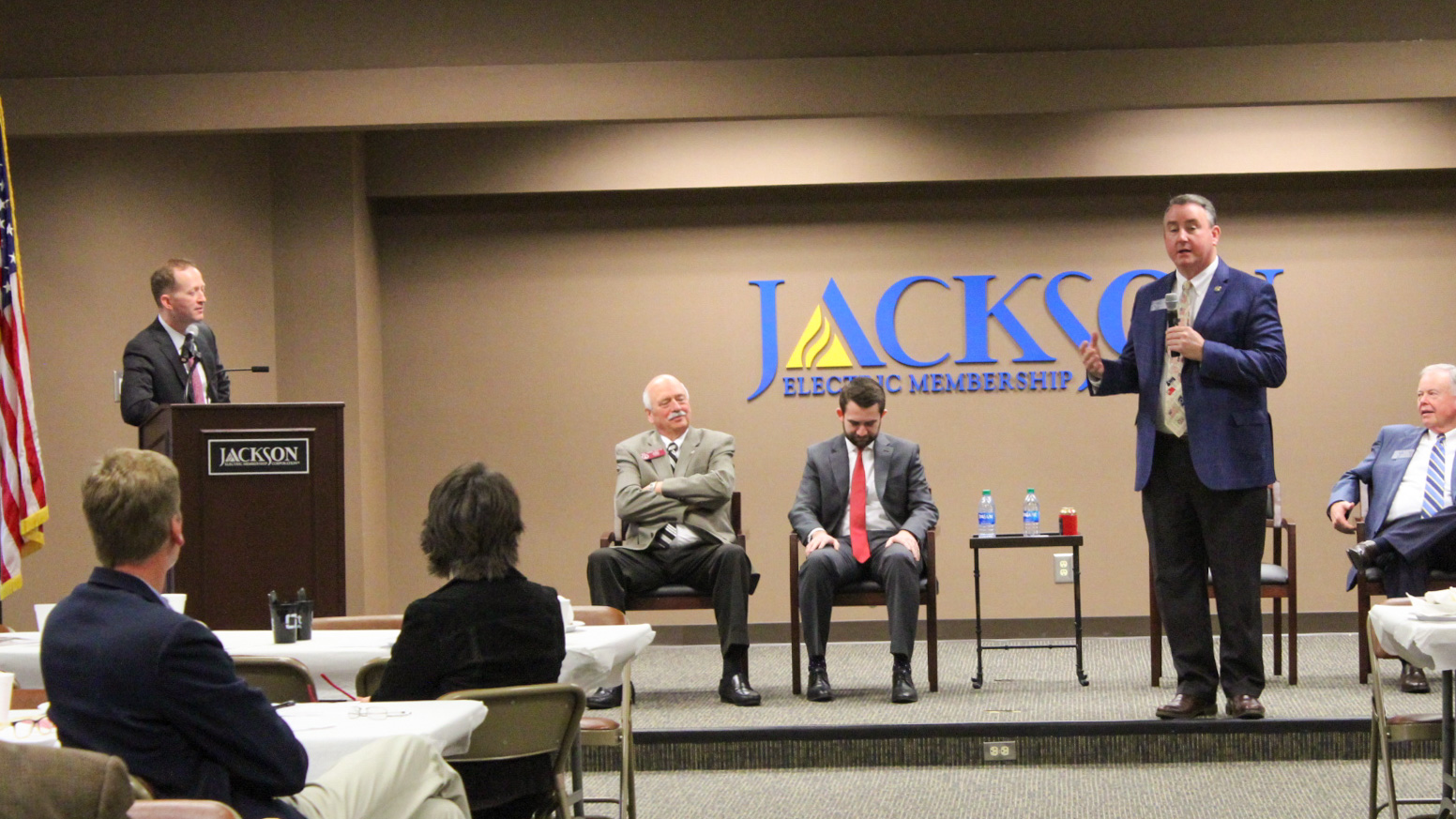 Jackson County monthly Business at Breakfast meetings