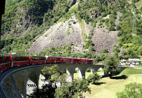 alpine lakes & scenic trains